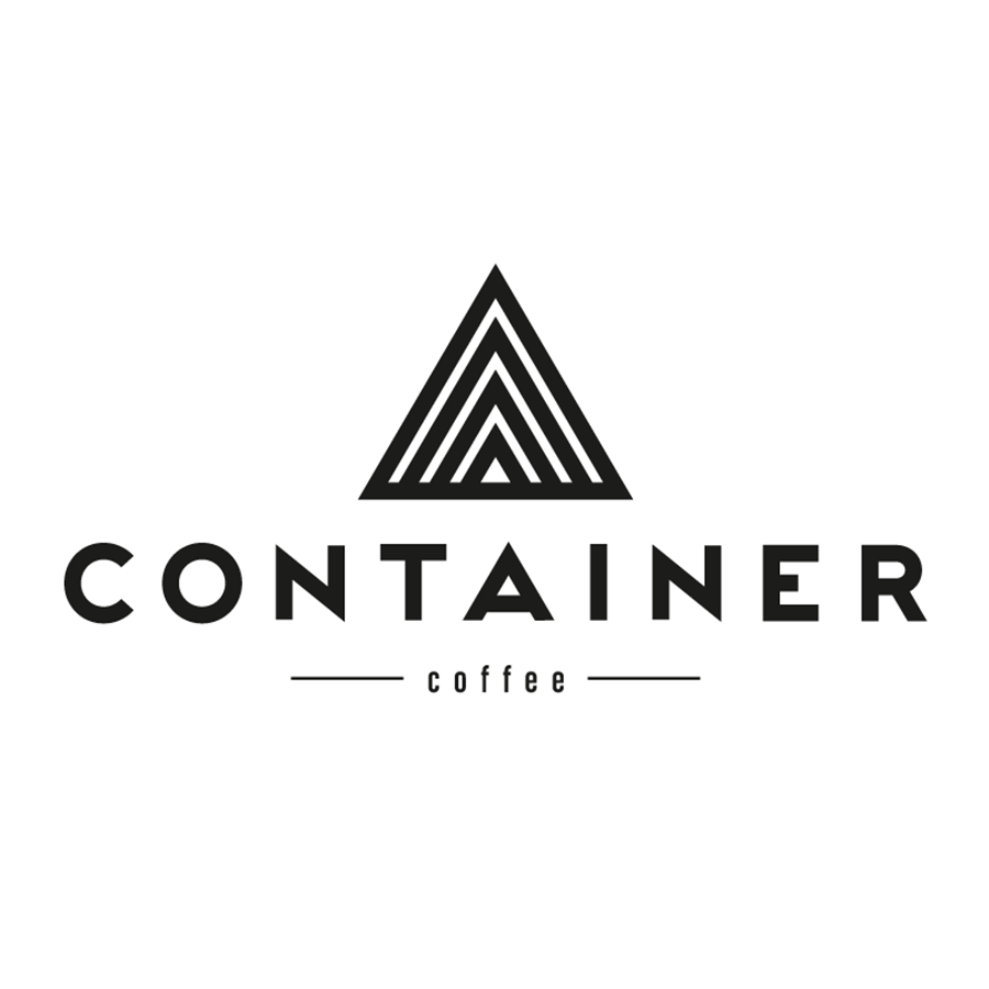 Logo design for Container Coffee, designed by RXVP
