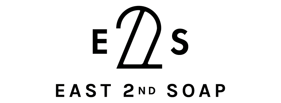 Logo for East 2nd Soap, designed by RXVP